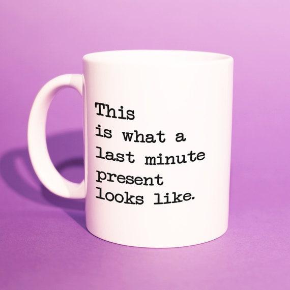 dr le de derni re minute cadeau mug cadeau de derni re etsy. Black Bedroom Furniture Sets. Home Design Ideas