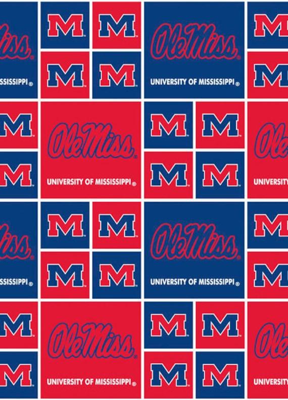 NCAA Mississippi Ole Miss Rebels Logo Post Earrings