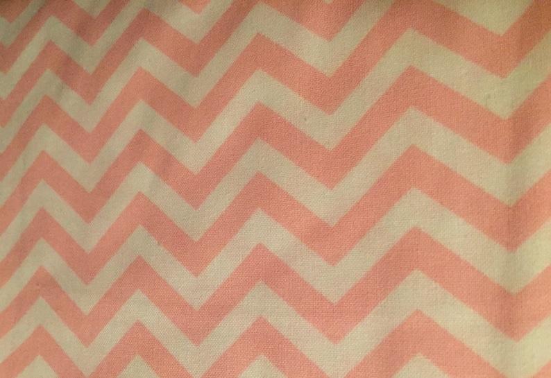 Wide Pink Chevron Fabric 100/% Cotton 44 wide