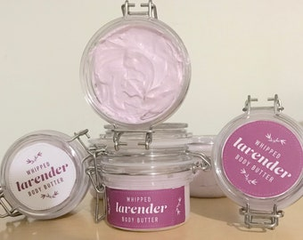 All Natural Whipped Lavendar Body Butter