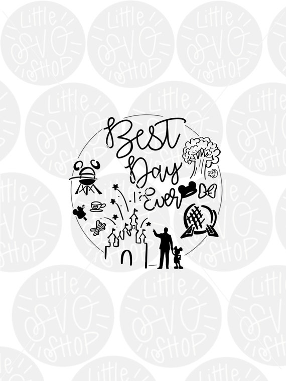 Download Best Day Ever Svg Cut File SVG
