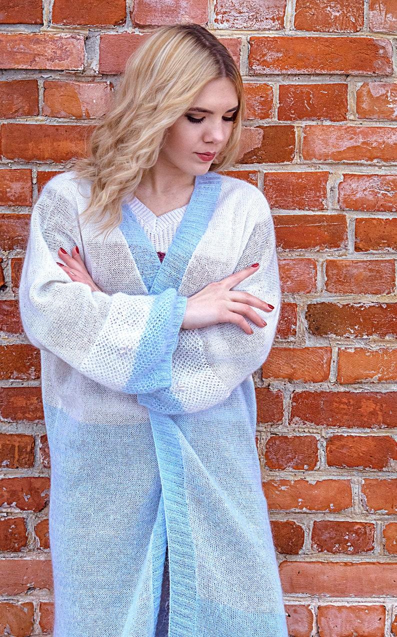Cardigan Wool cardigan Oversize cardigan Plussize cardigan Womens cardigan  Knitted cardigan 3X cardigan Open front cardigan