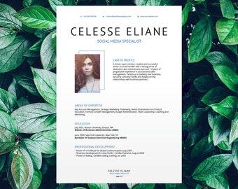 Savage Resume Template Celesse