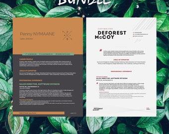 Buy 1 get 1 FREE - Savage Bundle Nymaane Primus - Resume Templates - CV -