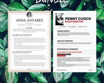 Buy 1 get 1 FREE - Savage Bundle Antares Auriage - Resume Templates - CV -