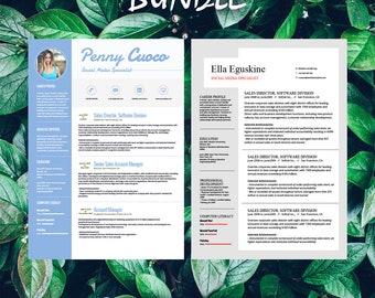 Buy 1 get 1 FREE - Savage Bundle Cassiopeia Eguskine - Resume Templates - C -