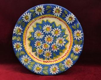 Antique F.S.Romania Handpainted Porcelain Plate