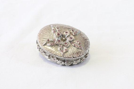 Vintage Handmade Engagement Ring Box, Vintage Wedd