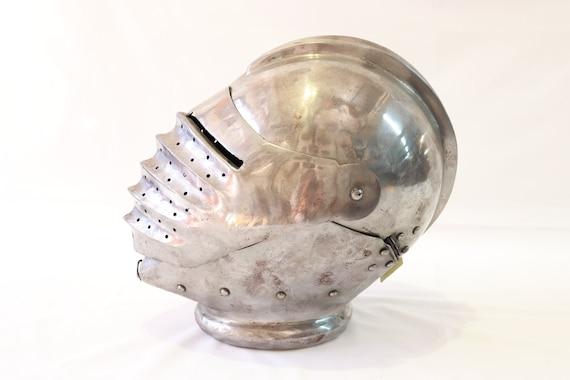 Vintage Medieval Knight Helmet, Antique Helmet, Me