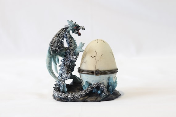 Dragon Egg Engagement Ring Box, Dragon Wedding Rin