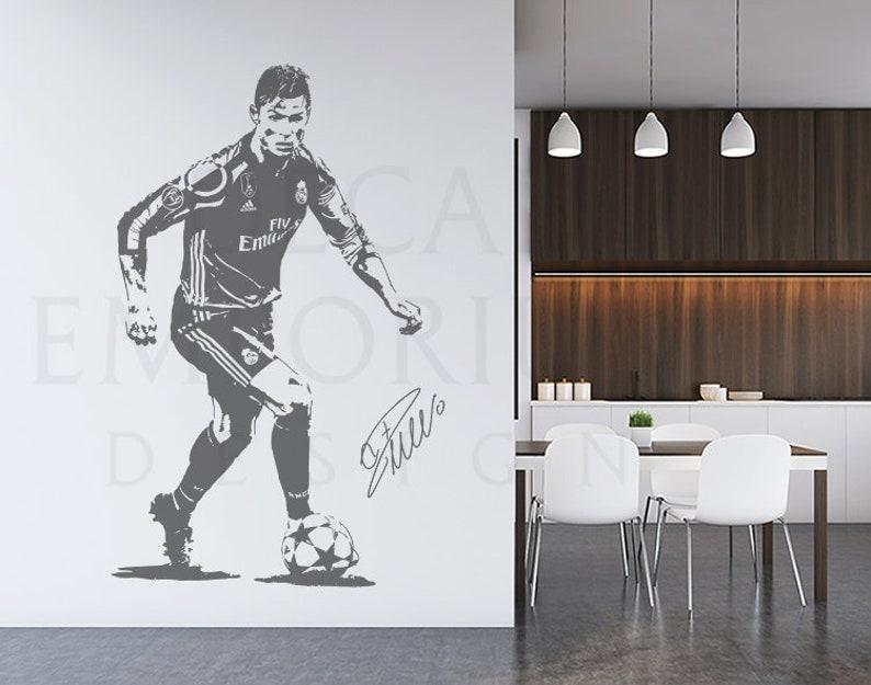 Cristiano Ronaldo Football Sports Pared Arte Lona impresión enmarcado caja ~ muchos Tamaño