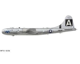 "Airplane Decal - B-29A Superfortress ""FIFI"" Decorative Vinyl Wall Art"