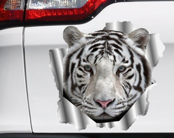Tiger Wild Baby Cub Wall Car Truck Window Laptop Vinyl Sticker Decal