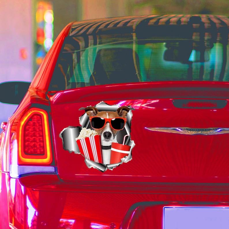 Border Collie Printed Vinyl Decal Car SUV Truck Auto High Quality Sticker HD