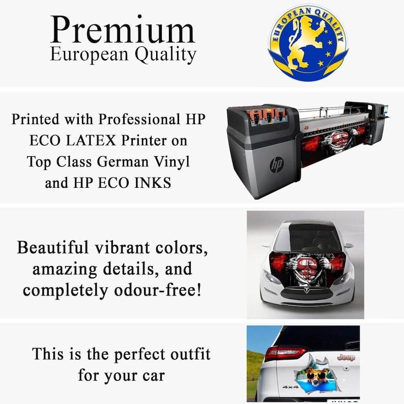 Car Bumper Sticker,Car Decal For Girl Q258 Hood Wrap Decals Car Hood Decal Harley Quinn Decal Car Accessories Harley Quinn Sticker