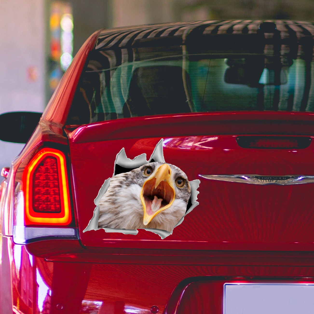 Eagle sticker wild bird decal car bumper sticker car window decal car decals car accessories car vinyl decal pet decal for car o16
