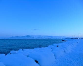 Reykjavik Harbour at Noon