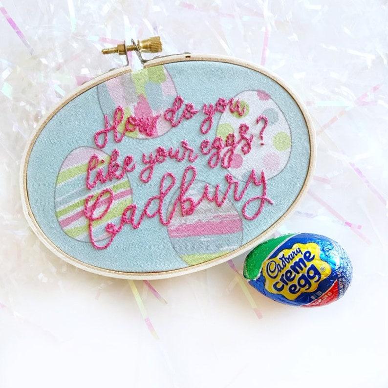 Cadbury Egg Hoop