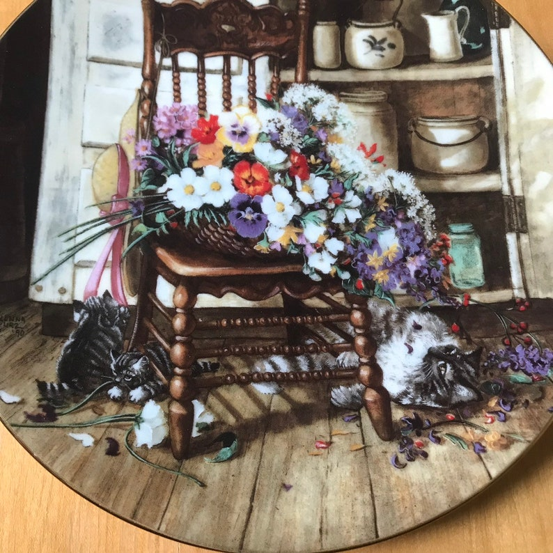 George Vintage Collection Plate Country Cuttings 1990 W.S