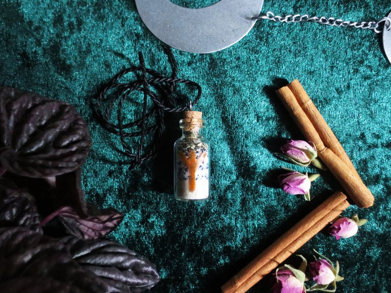 Talisman for Clarity with sage