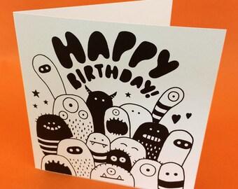 Happy Birthday! - Monsters