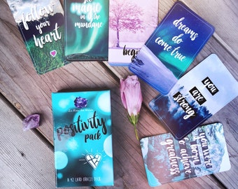 The Positivity Pack Oracle Deck + Book