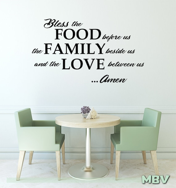 Wall Decal Dining Room Art, Dining Room Wall Decals