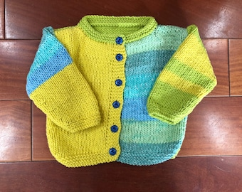 Colorful Baby sweaters