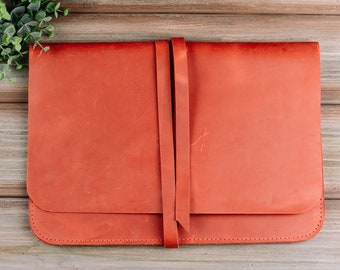 Leather laptop cases