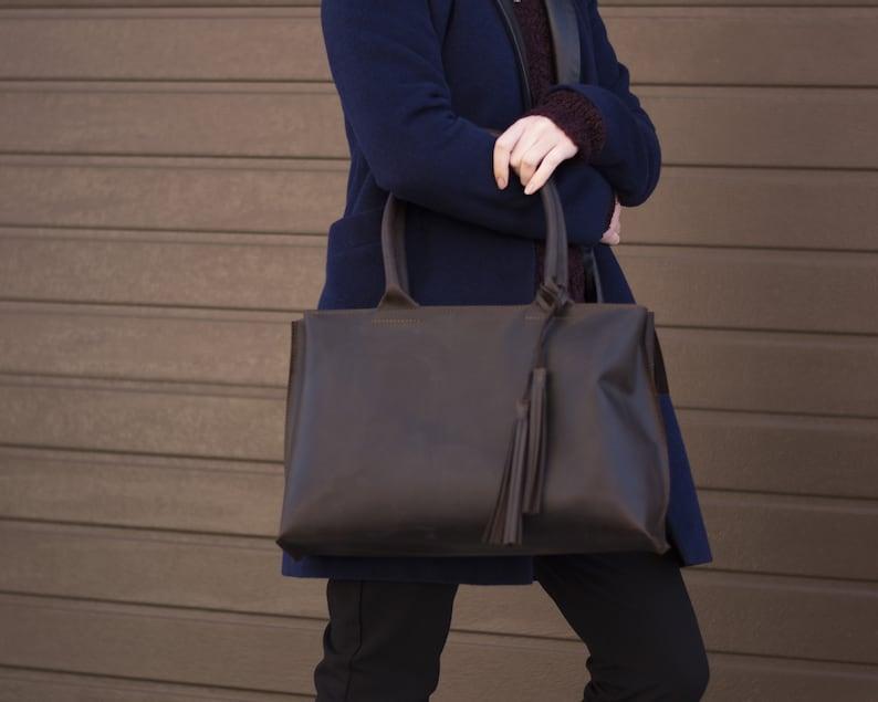 Leather Tote Bag Handbag Leather Laptop Bag Leather Tote Custom Tote Bag Leather Purse Vintage Evening Bag Minimalist Bag Leather Bag