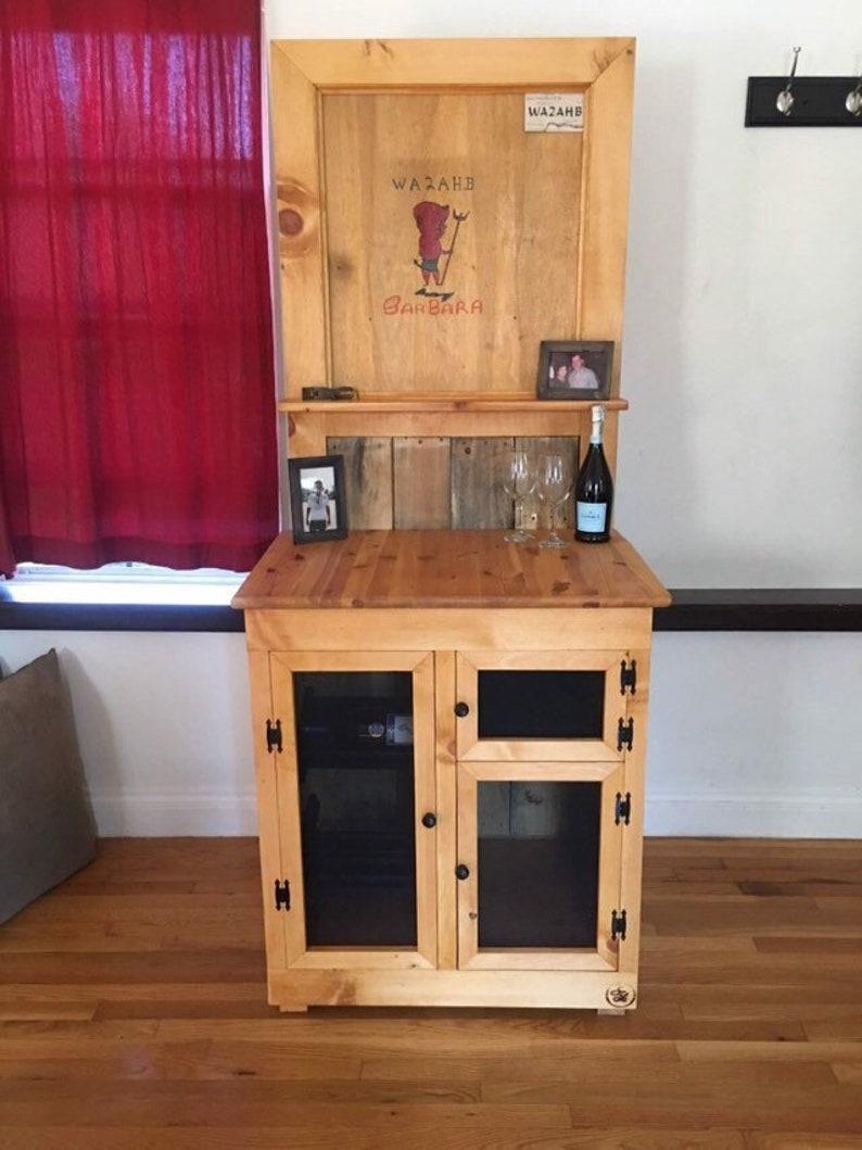 Reclaimed Pallet Door   Reclaimed Door   Vintage Door   Entryway Decoration    Vintage Door Decor   Wine   Whiskey   Home Decor   Reclaimed
