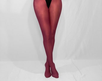 84e87d783 Shiny Glossy Pantyhose Tights (Fuchsia)