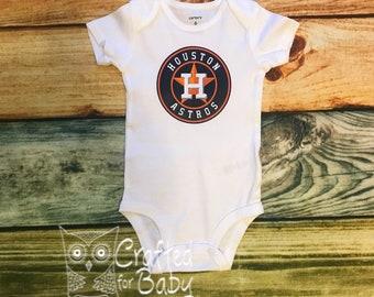 Houston Retro Onesie Houston Baseball Onesie Houston Onesie Houston Tee Astrodome Onesie Astrodome Tee Baseball Fan Shirt
