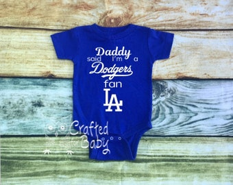 Baby bodysuit Newest fan LA Los Angeles Angels MLB One Piece jersey