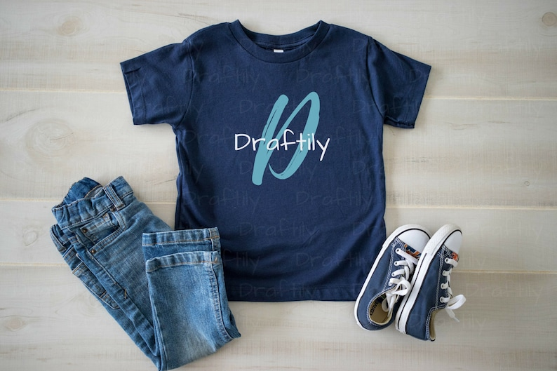 cfadea9e8 PHOTO Bella Canvas Toddler T Shirt 3001T Navy Mockup | Etsy