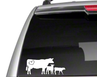 "4-H Steer 4H 6/"" Car Vinyl Sticker Decal show market club beef cattle cow *J7b*"