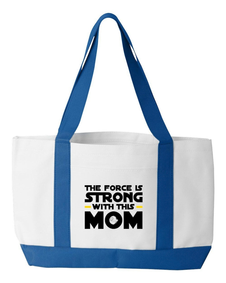Force Is Strong Tote Bag
