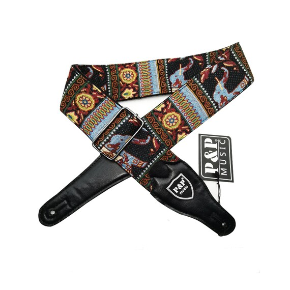 Stylish Strap Guitar Accessories Jacquard Guitar Strap Embroidered Guitar Strap High Quality Guitar Straps,Adjustable length strap,Gifts