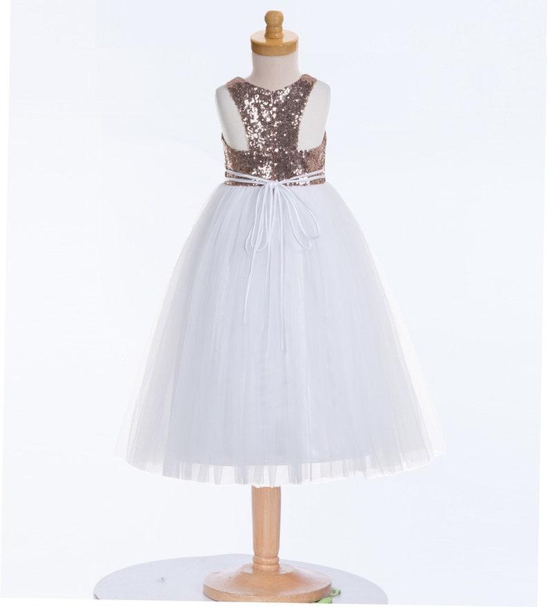 Photography Dress Boho Flower Girl Dress Heart Neckline Sequin Flower Girl Dresses Dancing Dresses Tea Party Dress Bridesmaid Dresses