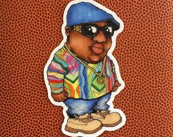 The Notorious B.I.G. Die Cut Vinyl Sticker