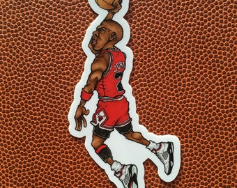 MJ Air - Die Cut Vinyl Sticker
