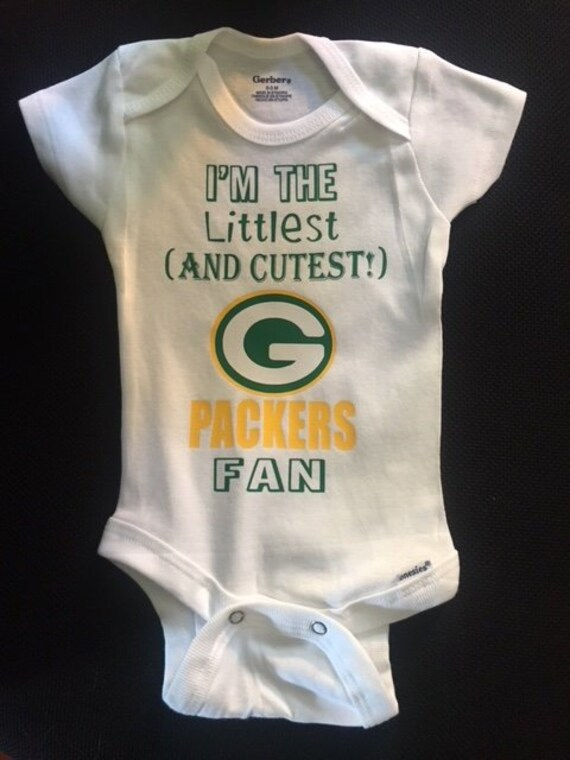 e83faa8dc I m the Littlest AND CUTEST Green Bay Packers Fan