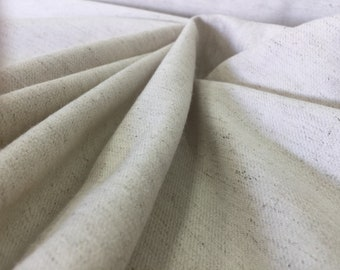 Raw Linen Natural Fabric