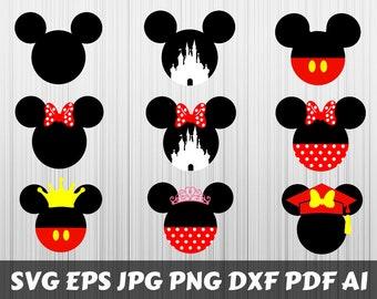 Mickey Head Etsy