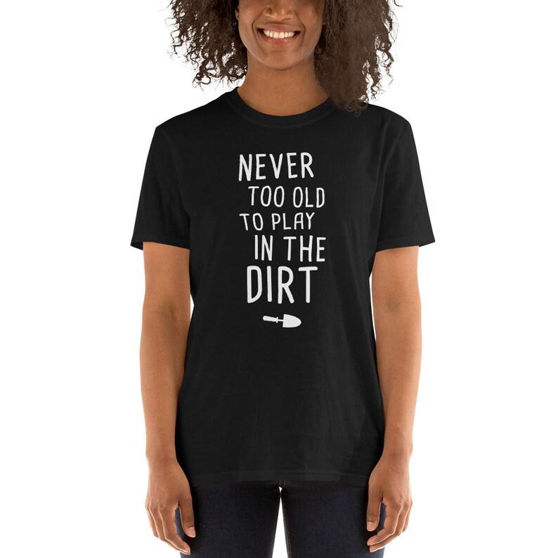 6df1c43609 Cute Gardener T-Shirt Funny Gardening Gift Idea / Garden & | Etsy