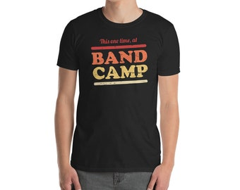 Retro Vintage Marching Band Camp T-Shirt