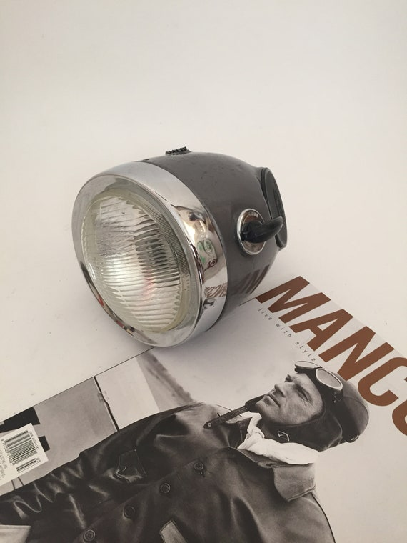 Cev Type 105 Headlight With Ignition Key Vintage Cev Tipo Etsy
