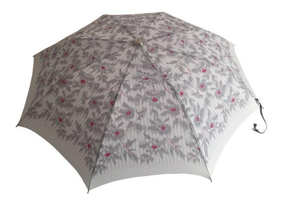 Vintage Knirps umbrella, Vintage rain umbrella, vi