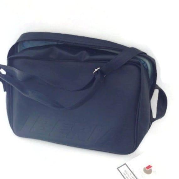 Crossbody Bag, vinyl crossbody bag, vintage bag, b