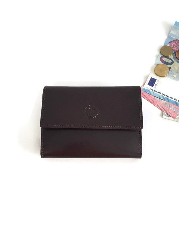 Vintage leather wallet, Womens wallet, Mens Wallet